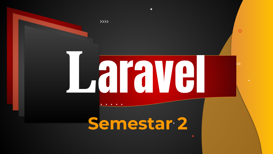 Laravel - Semestar 2