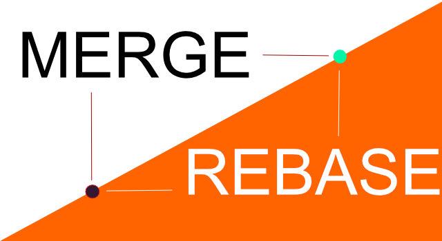 Git Merge - Git Rebase